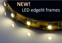 LED Edgelit Frames